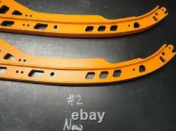 13 2013 Ski Doo Freeride154r 800xp Orange Suspension Rails Runners 503193382 #2