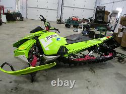 2015 Ski-doo Etec 800 Xm-rs Freeride Rear Suspension Kyb Center Shock 503194071