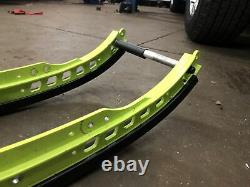 2016 Skidoo Freeride Rev-xm Manta Green 146 Rails With Braces And DuPont Slides