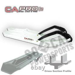 C&A PRO Boondocking Extreme BX Skis WHITE Ski Doo Freeride 800R ETEC (2012-2013)
