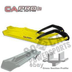 C&A PRO Boondocking Extreme Skis YELLOW Ski Doo Freeride 800R E-TEC (2012-2013)