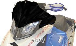 Cobra Windshield Low Black Pow. 13413 For 13-19 Ski Doo Freeride MXZ Renegade