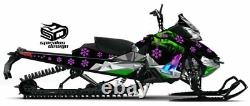 SKI-DOO Summit Freeride 600 800 sled graphic wrap XM Chassis The North