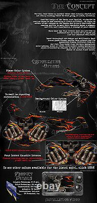 Ski-doo 2013-2015 XM Rev Summit Hell Ride Graphics Wrap Freeride Summit Wrap