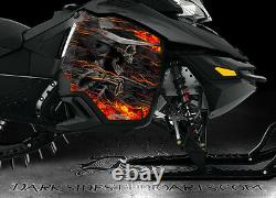 Ski-doo 2013-2015 XM Rev Summit Hell Ride Side Panel Graphics Wrap Freeride