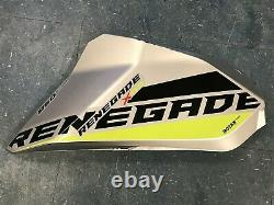 SkiDoo G4 Renegade X 850 XRS ETec Freeride MXZ 17 18 19 OEM Left Panel Silver NF