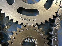 SkiDoo Renegade XRS 800 GSX Freeride MXZ 600 11-14 OEM CHAIN CASE GEARS 45T 25T