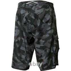 Slippery Pantalone Moto D'acqua Board Shorts Black/camo Sea Doo Jet Ski Freeride