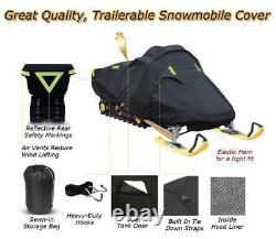 Trailerable Sled Snowmobile Cover Ski Doo Freeride 800R E-TEC 137 2012-2017